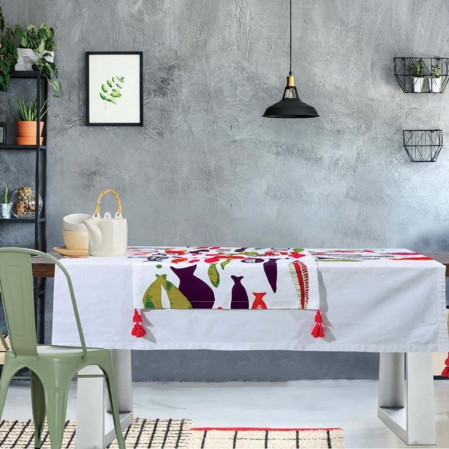Τραπεζομάντηλο Das Home Kitchen Line 528 140Χ140