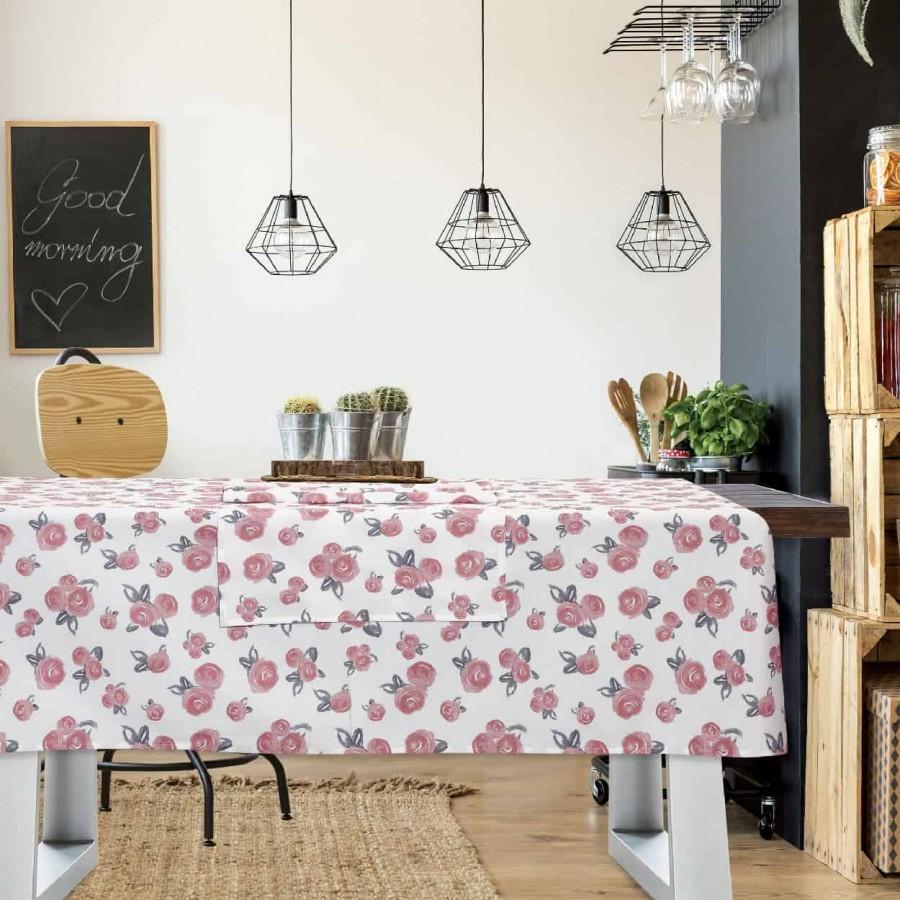 Τραπεζομάντηλο Das Home Kitchen Line 555 140Χ180
