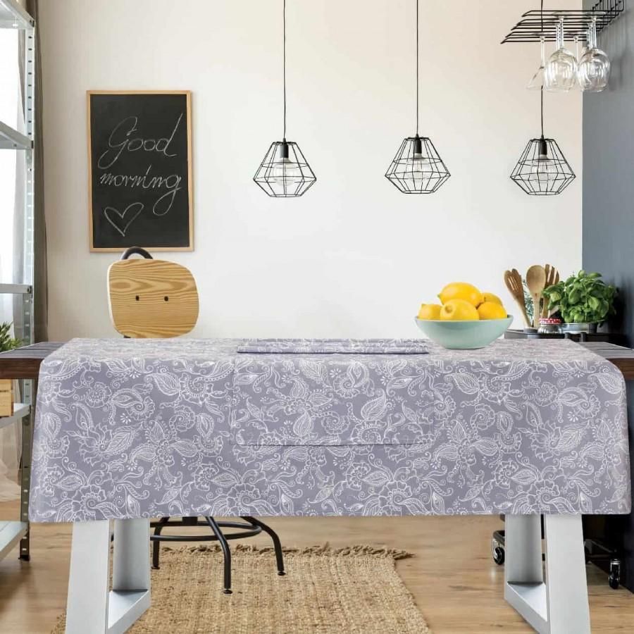 Τραπεζομάντηλο Das Home Kitchen Line 557 140Χ180
