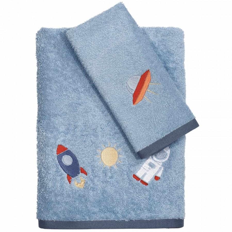Βρεφικές Πετσέτες Κεντητές Σετ Das Home 6492