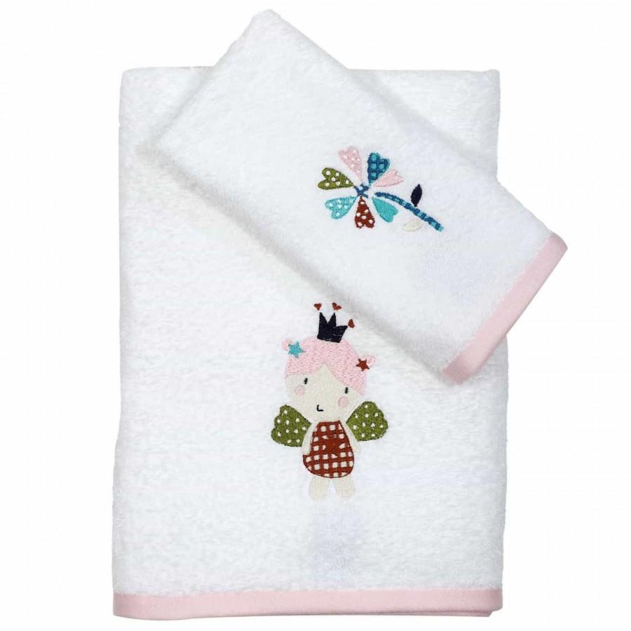 Βρεφικές Πετσέτες Κεντητές Σετ Das Home 6496