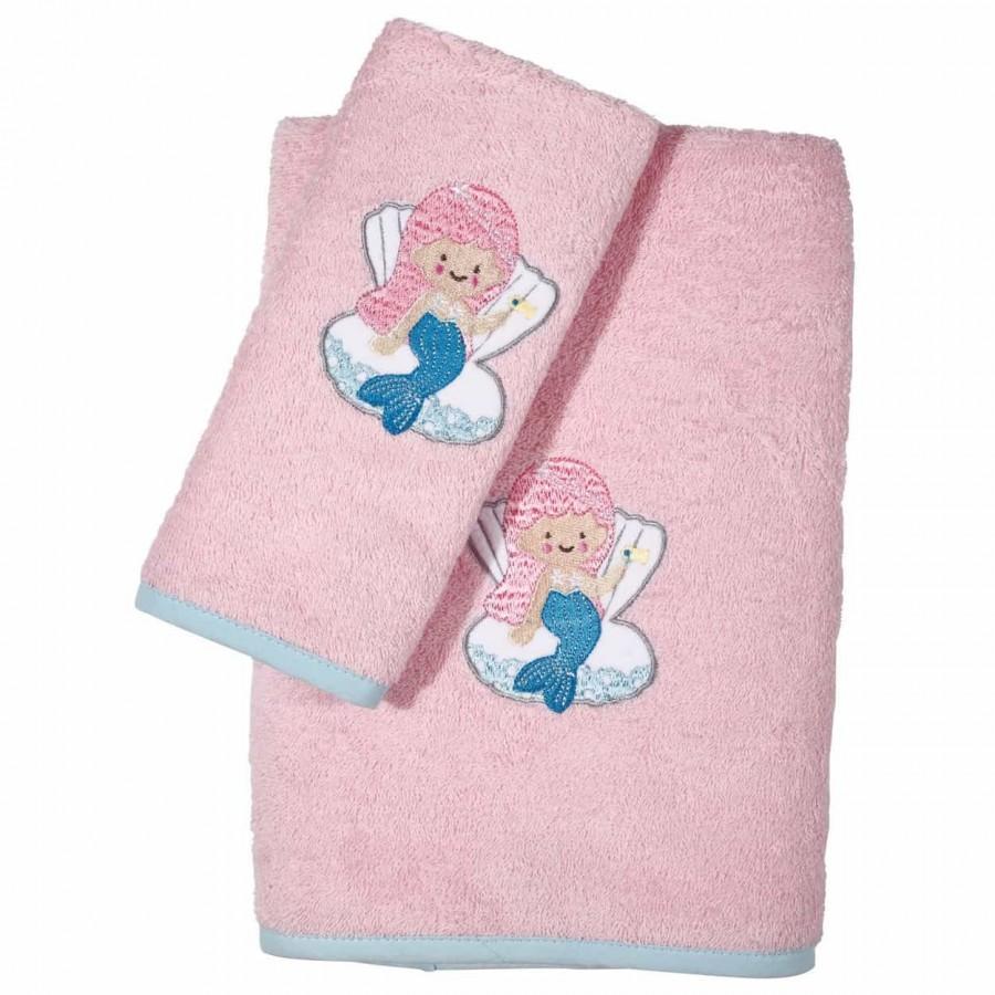 Βρεφικές Πετσέτες με Κέντημα 2 τεμ Das Home 6502