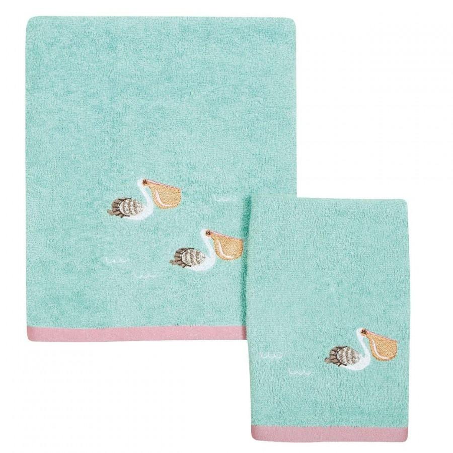 Βρεφικές Πετσέτες Σετ Das home 6451 30x50 - 70x140