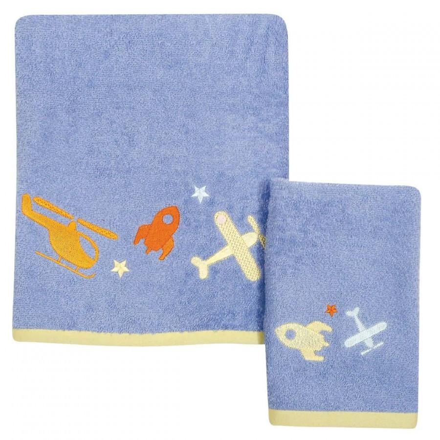 Βρεφικές Πετσέτες Σετ Das home 6453 30x40 - 70x140