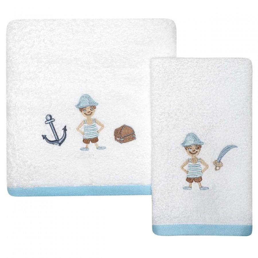 Βρεφικές Πετσέτες Σετ Das home 6454 30x40 - 70x140
