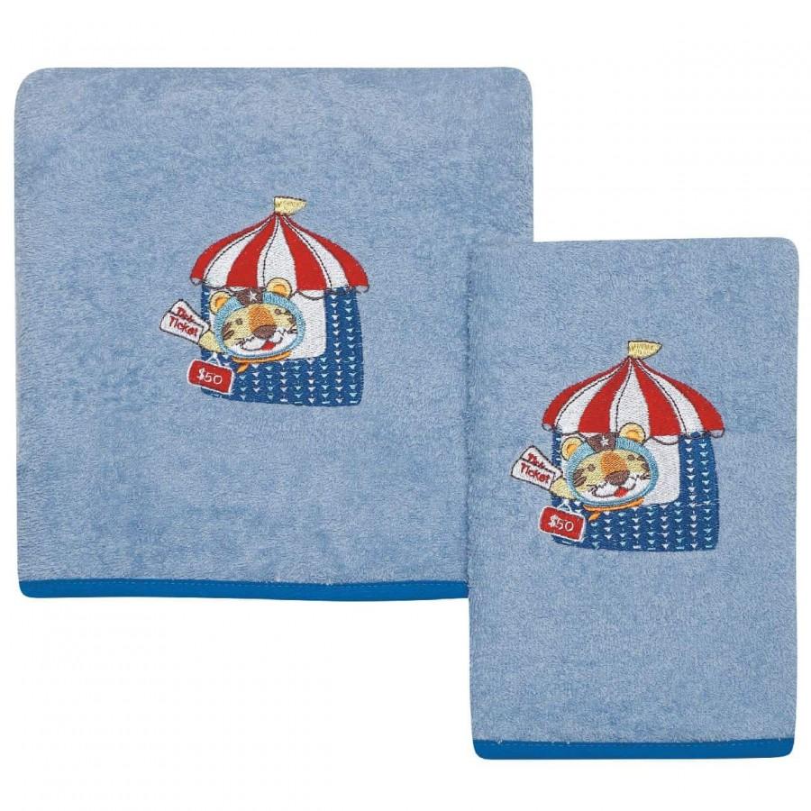 Βρεφικές Πετσέτες Σετ Das home 6456 30x50 - 70x130
