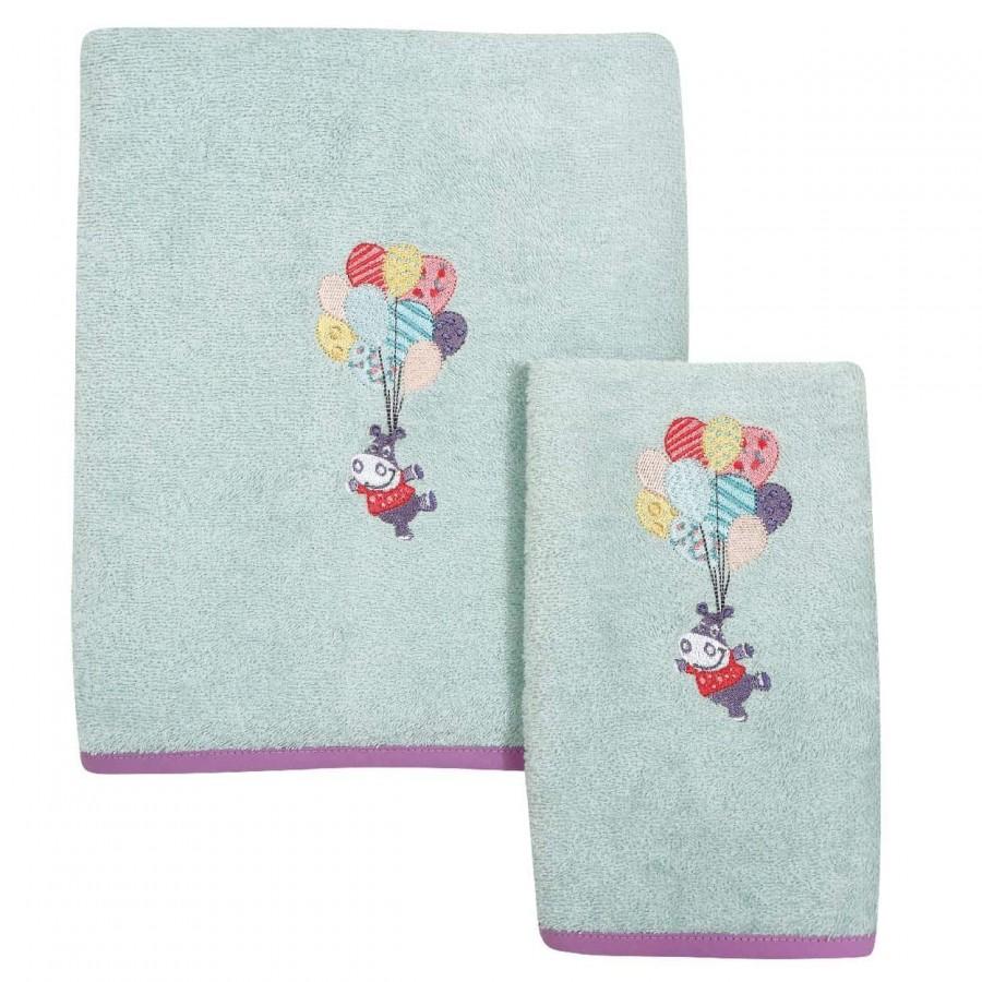 Βρεφικές Πετσέτες Σετ Das home 6457 30x50 - 70x130