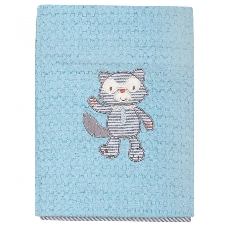 Βρεφική Κουβέρτα κούνιας Πικέ Das Home 6462 110x150
