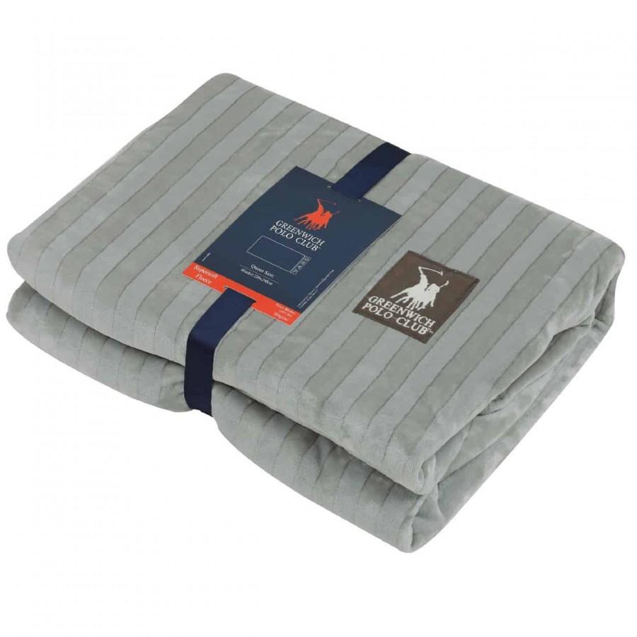 Κουβέρτα Fleece Υπέρδιπλη Greenwich Polo Club 2411 220x240