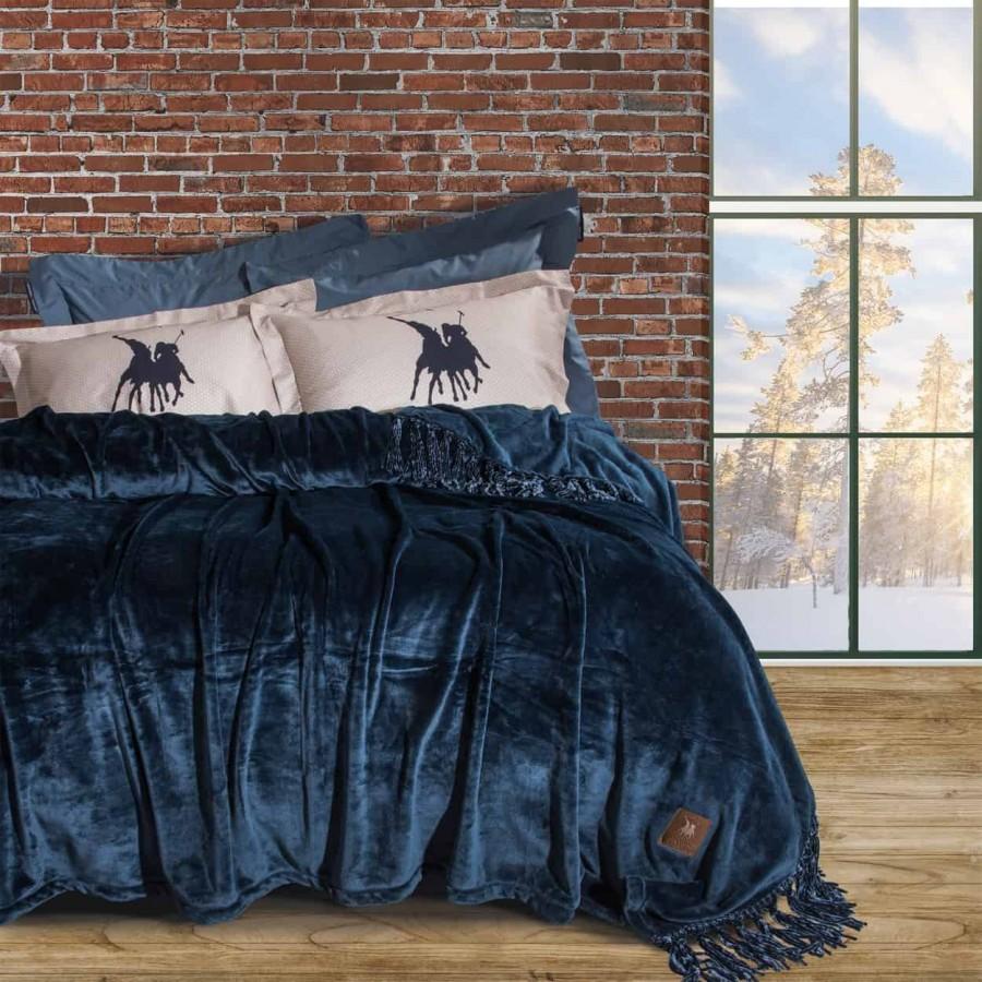 Κουβέρτα Υπέρδιπλη Fleece Polo 2430 220x240