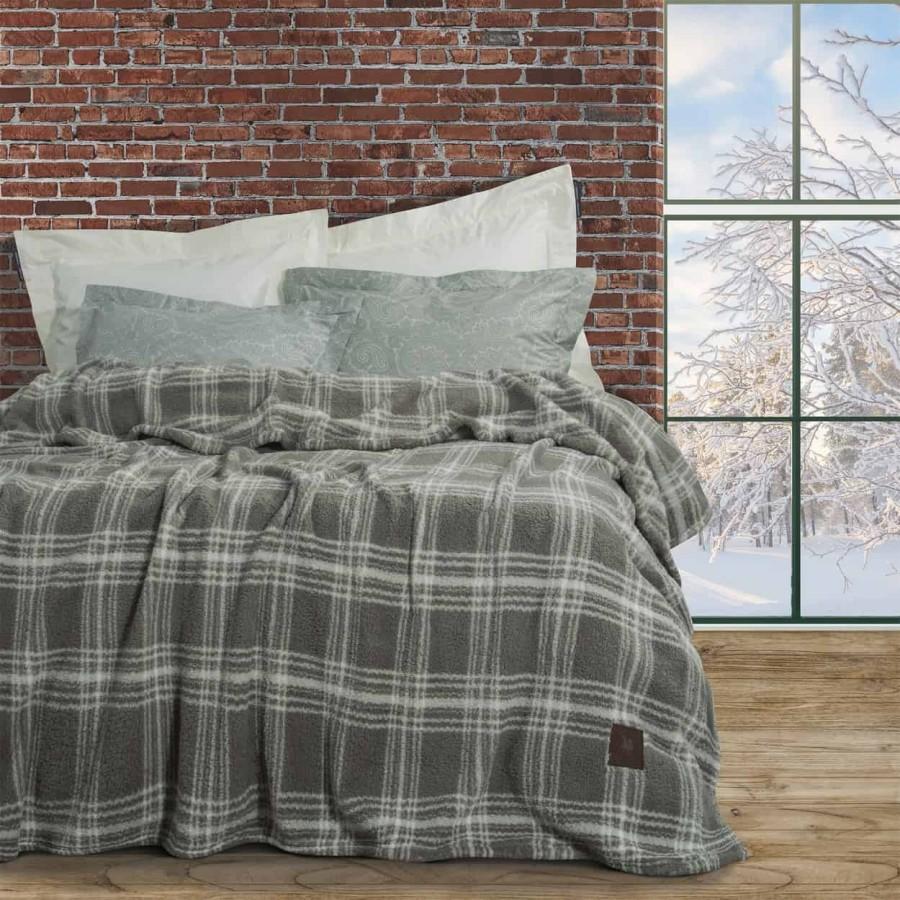 Κουβέρτα Υπέρδιπλη Με γούνα Polo 2433 220x240