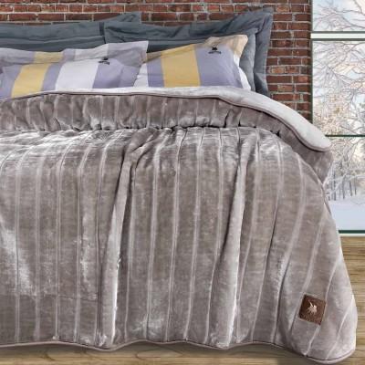 Κουβέρτα Υπέρδιπλη Βελουτέ Polo 2425 220x240