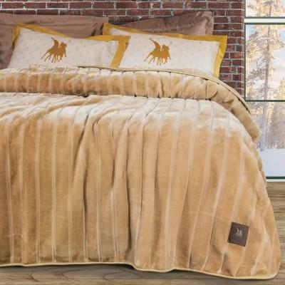 Κουβέρτα Υπέρδιπλη Βελουτέ Polo 2426 220x240