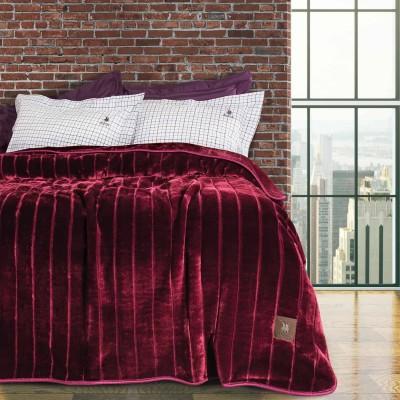 Κουβέρτα Υπέρδιπλη Βελουτέ Polo 2427 220x240