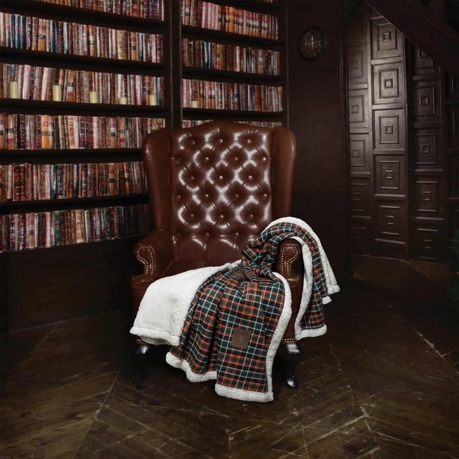 Κουβέρτα Καναπέ με γούνα sherpa Polo 2434 130x150