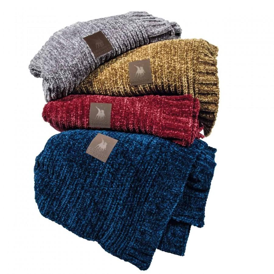 Κουβέρτα καναπέ πλεκτή Σενίλ Polo 2421 130x170