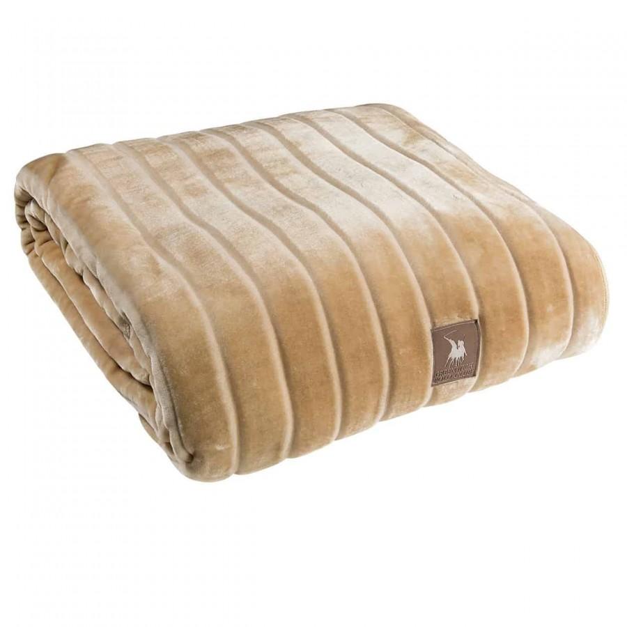 Κουβέρτα Μονή Βελουτέ Polo 2426 160x220