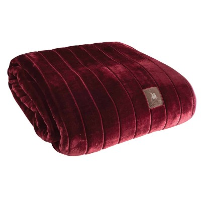 Κουβέρτα Μονή Βελουτέ Polo 2427 160x220