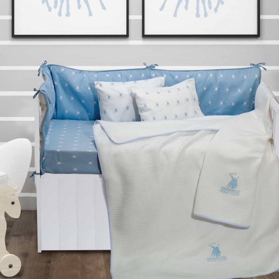 Κουβέρτα Πικέ Κούνιας Greenwich Polo Club 2941 110x150