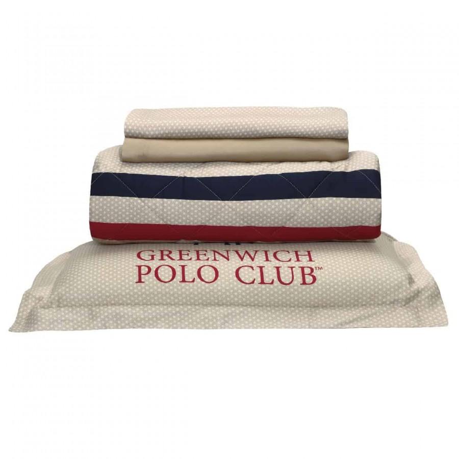 Σετ Σεντόνια Υπέρδιπλα Greenwich Polo Club 2031 230x260