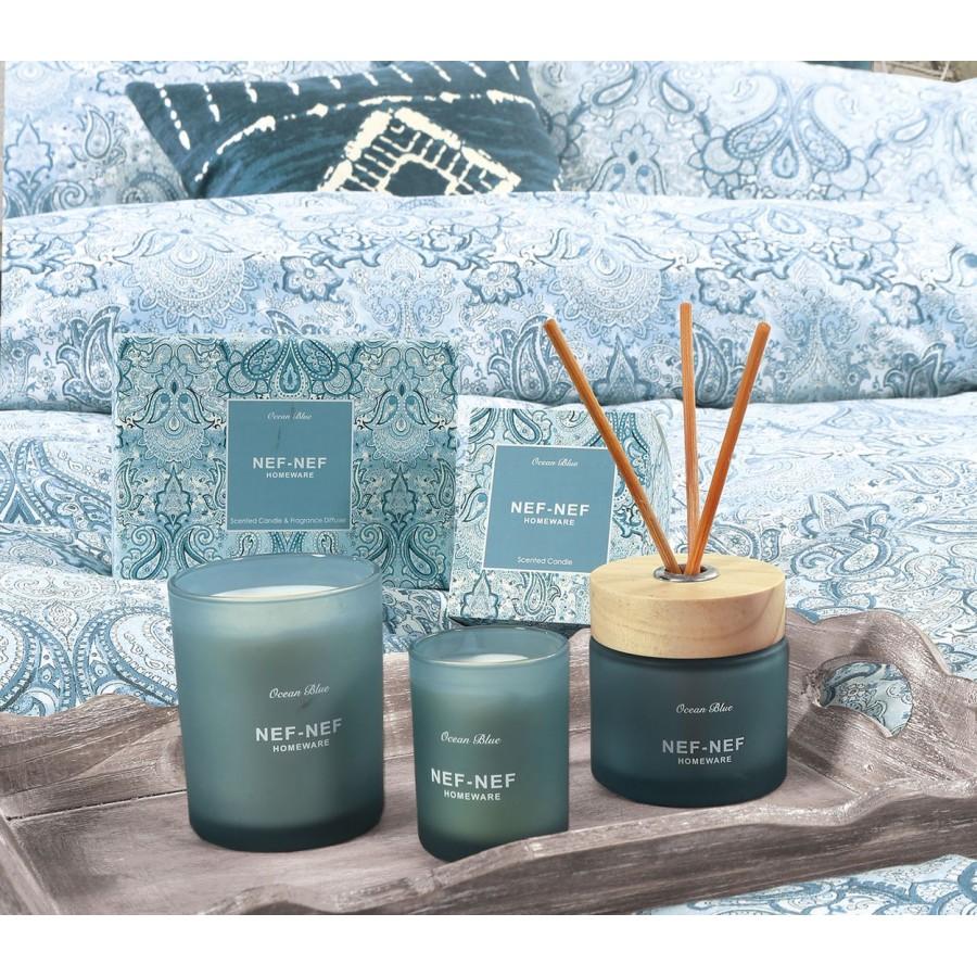 Αρωματικό Κερί και Αρωματικό Χώρου Με Στικς Ocean Blue