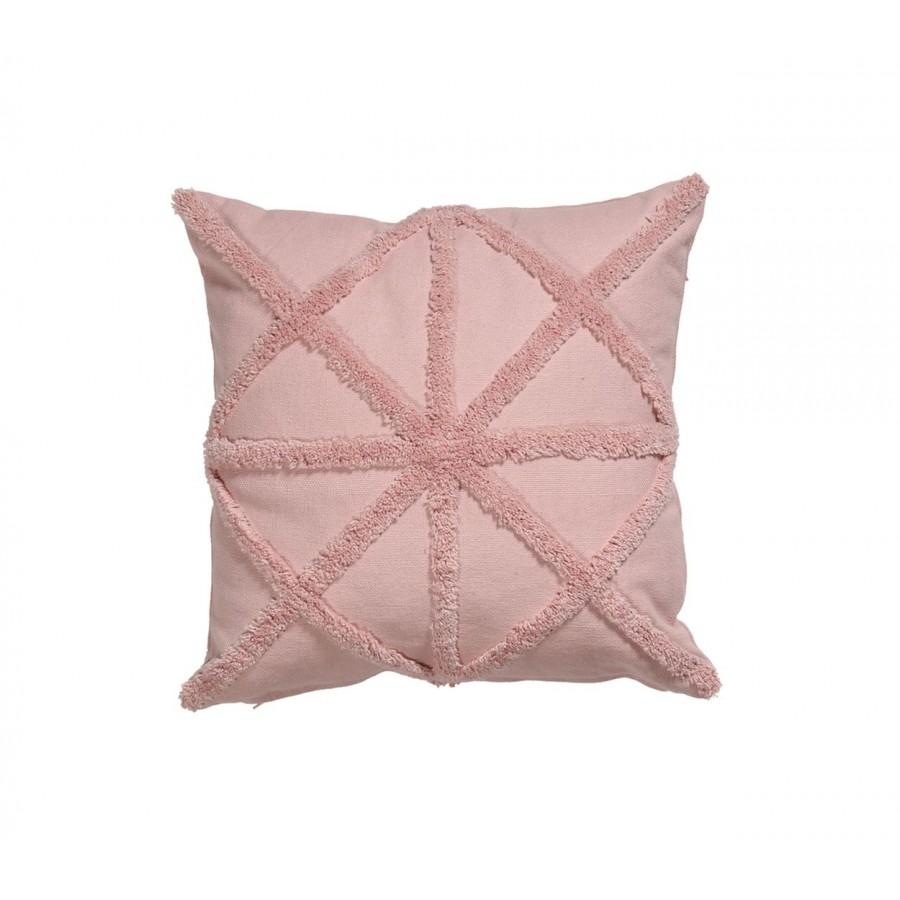 Διακοσμητικό Μαξιλάρι Adamas Pink 45x45