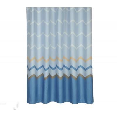 Κουρτίνα μπάνιου Reidar Μπλε Nef Nef Nef Nef 180x180