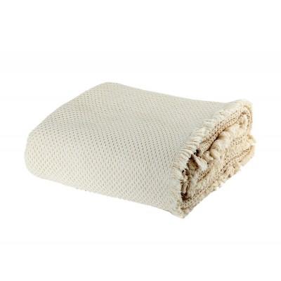 Κουβέρτα Υπέρδιπλη Benatia Ecru 230x250