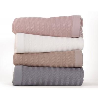 Κουβέρτα Υπέρδιπλη Fust Grey 230x240