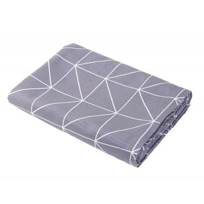 Κουβέρτα Πικέ Υπέρδιπλη Marsal Grey 230x240