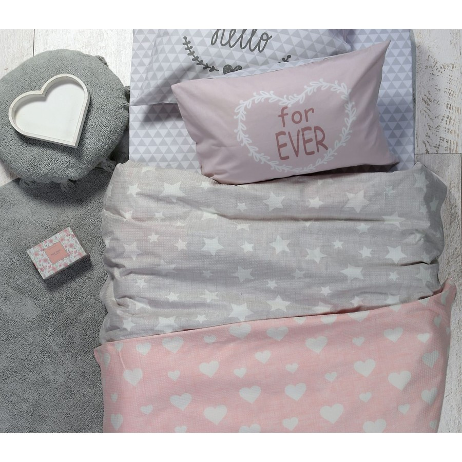 Κουβέρτα Πικέ Μονή Girl Style Pink 160x240