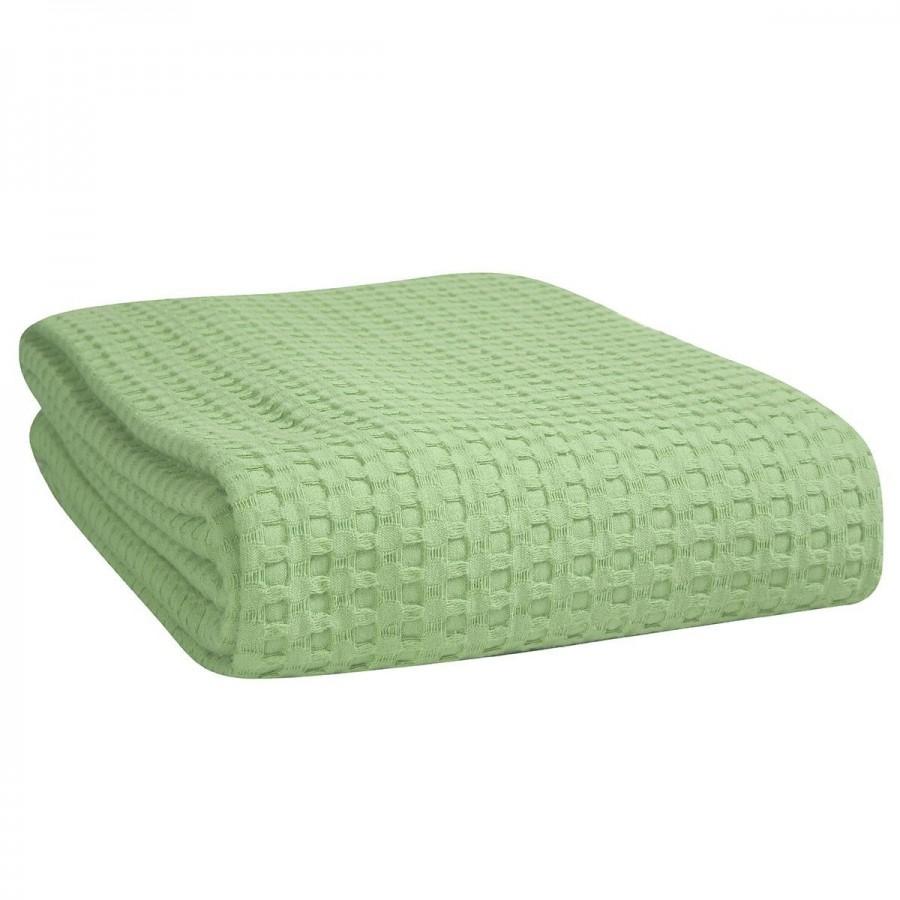 Κουβέρτα Πικέ Μονή Golf 15 160X240 Πράσινο