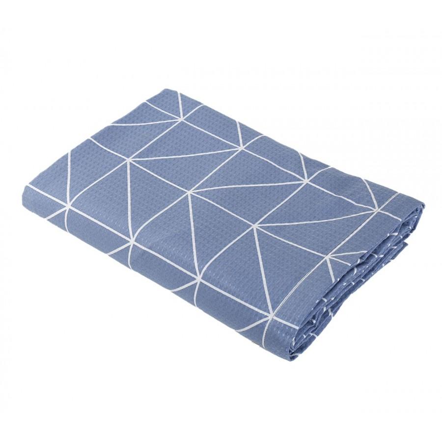 Κουβέρτα Πικέ Μονή Marsal Denim 160x240