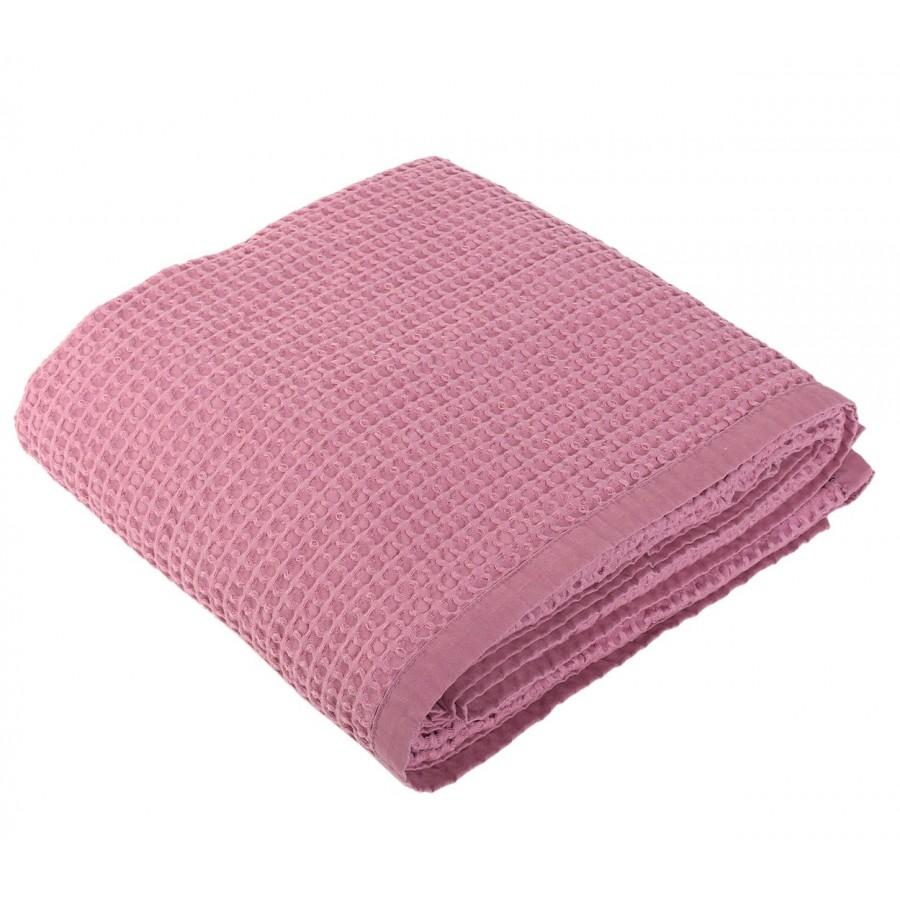 Κουβέρτα Πικέ Μονή New Golf 1065-Violet 160x240