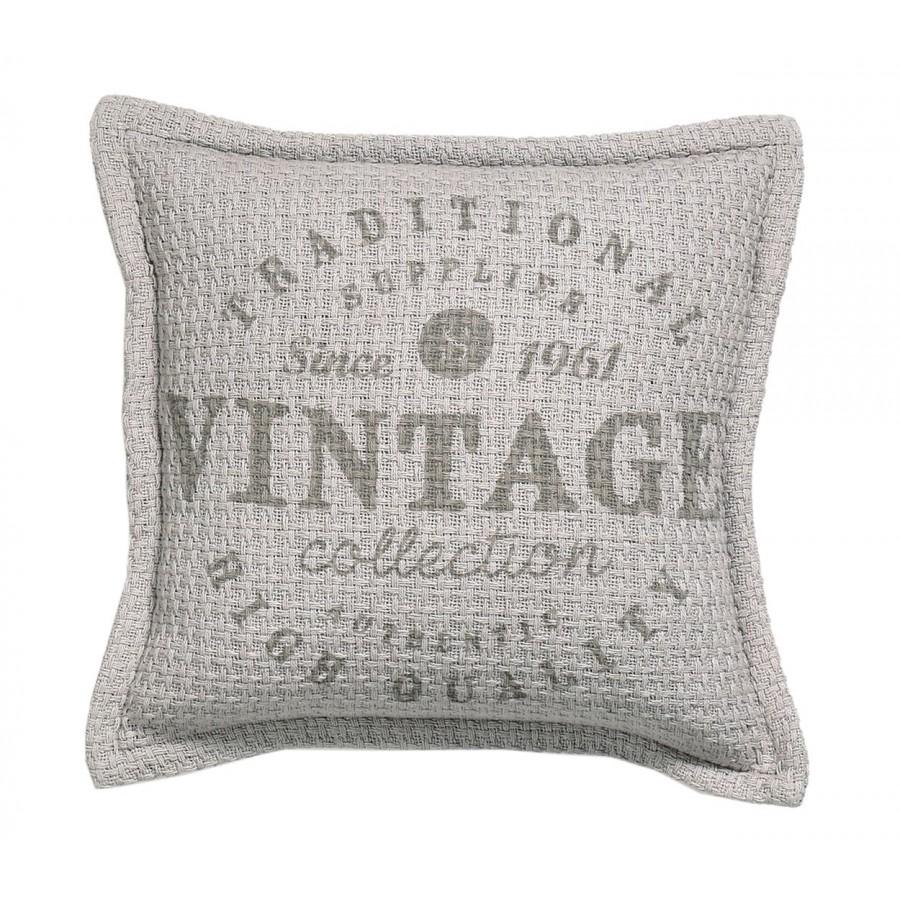 Μαξιλάρι Διακοσμητικό 40X40 Vintage Grey