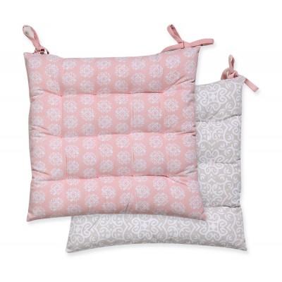 Μαξιλάρι Καρέκλας Donanim Pink 40x40
