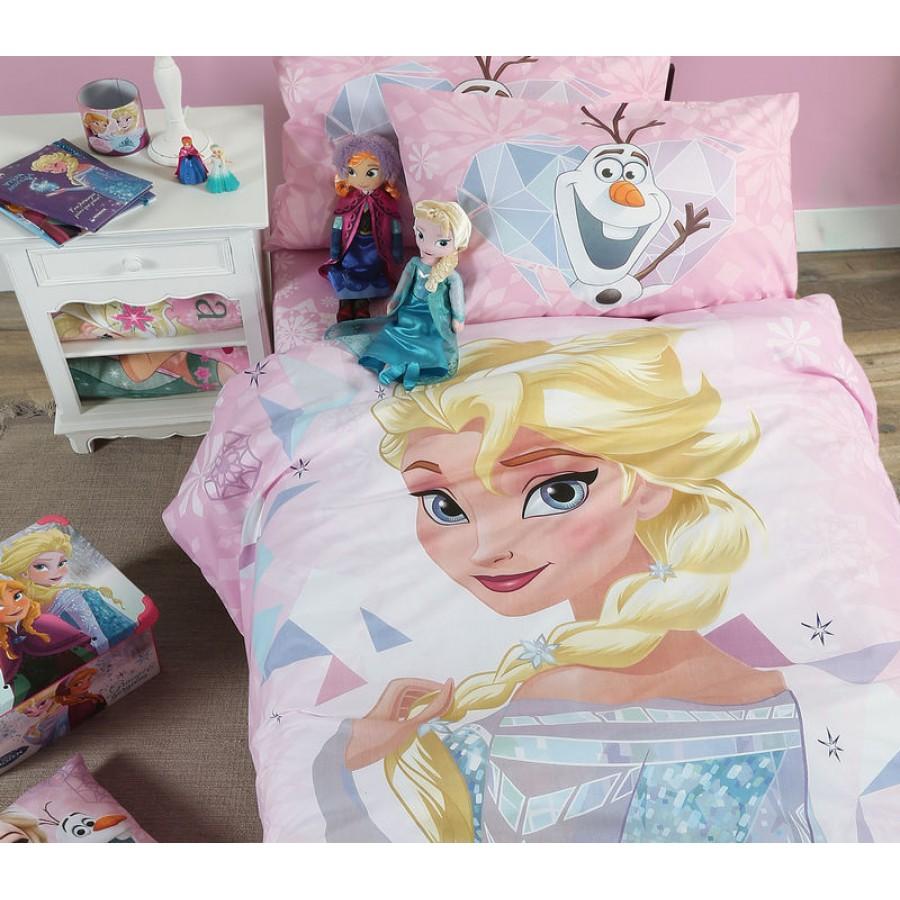 Παιδικά Σεντόνια (Σετ) Disney Frozen Kaleidoscope Nef Nef 160x260