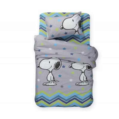 Παιδική Παπλωματοθήκη Σετ Μονή Snoopy Mood 160x240