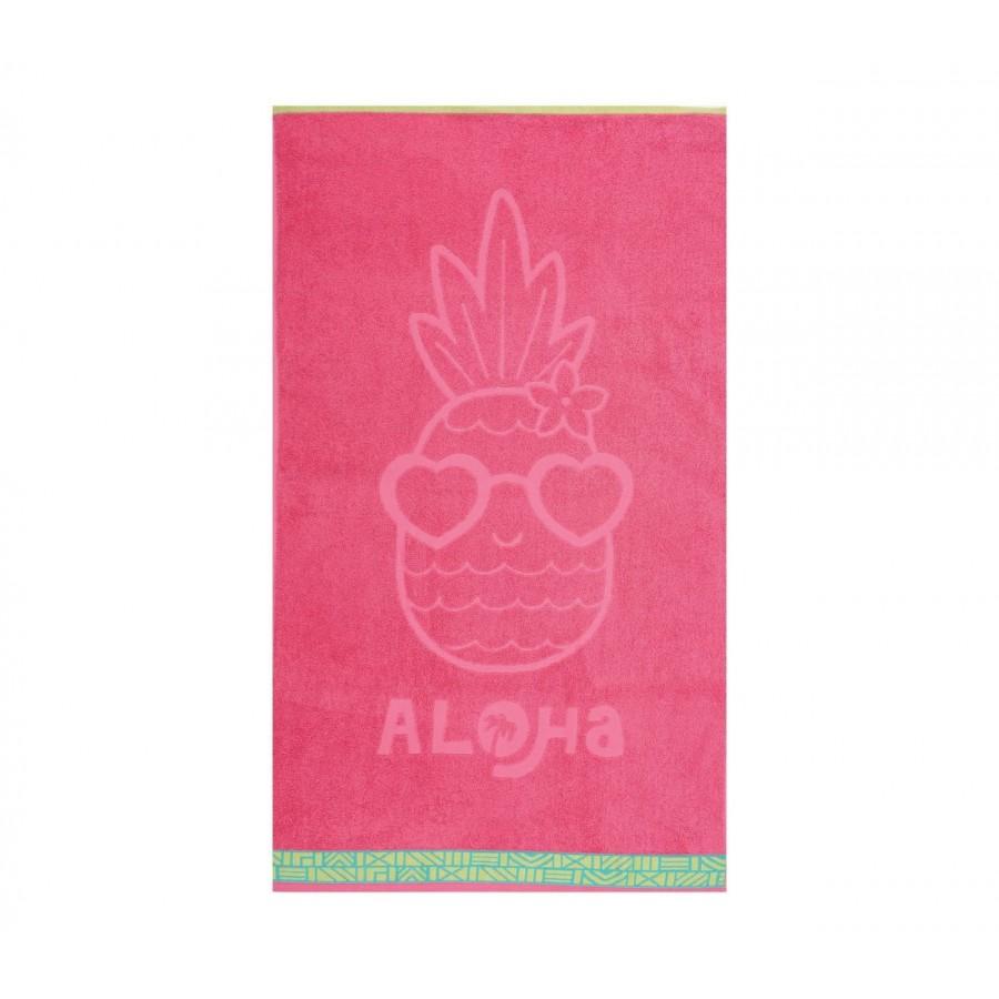 Παιδική Πετσέτα Θαλάσσης Nef Nef Pineapple Dream Coral Nef-Nef 70X120