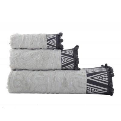 Πετσέτα Μπάνιου Diego Grey 70x140