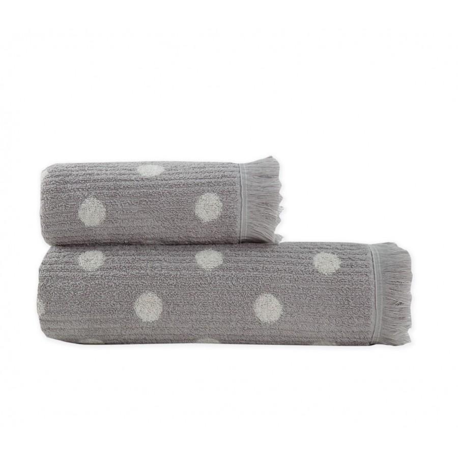 Πετσέτα Μπάνιου Dote Grey Nef-Nef  70X140