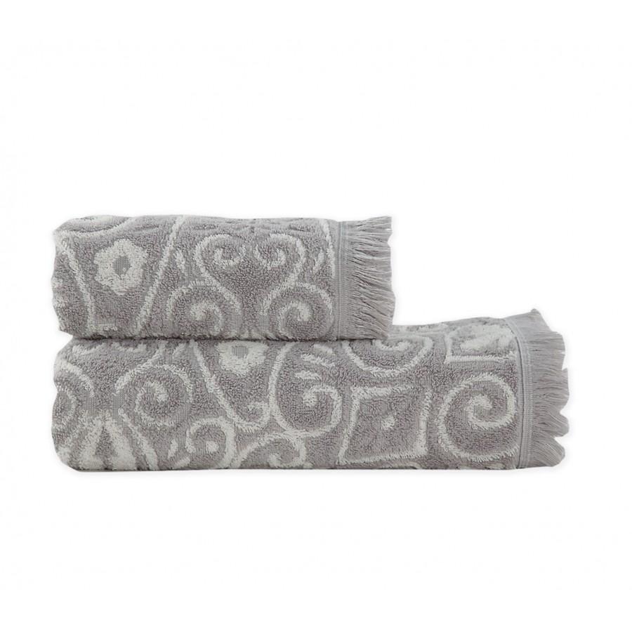 Πετσέτα Μπάνιου Realta Grey Nef-Nef  70X140