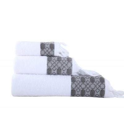 Πετσέτα Μπάνιου Vessi Athracite 70x140