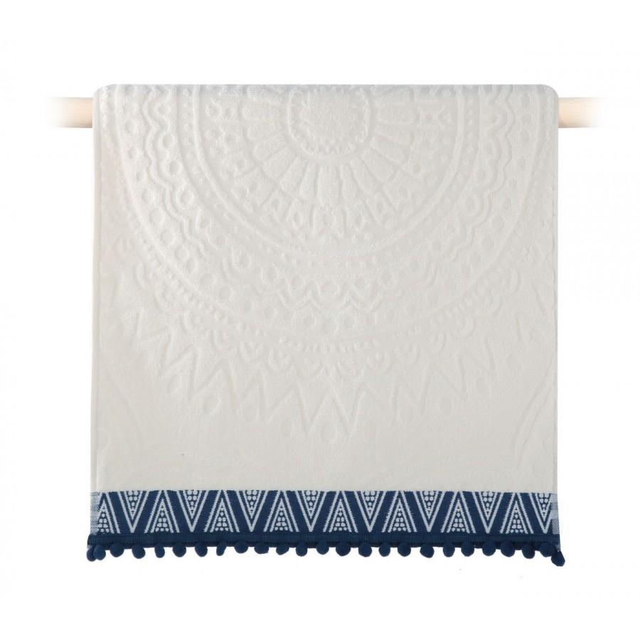 Πετσέτα Χεριών Diego Blue 30x50