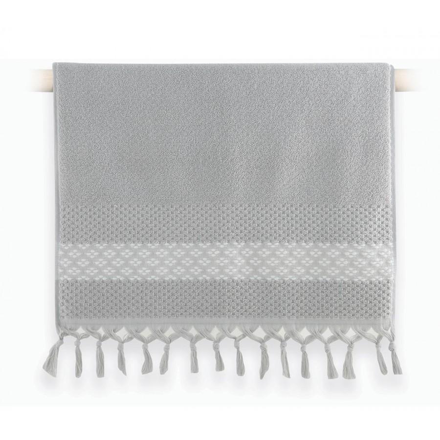 Πετσέτα Χεριών Elvia Grey 30x50