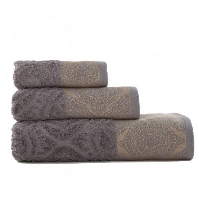 Πετσέτα Προσώπου Ava Dark Grey Nef-Nef  50X90