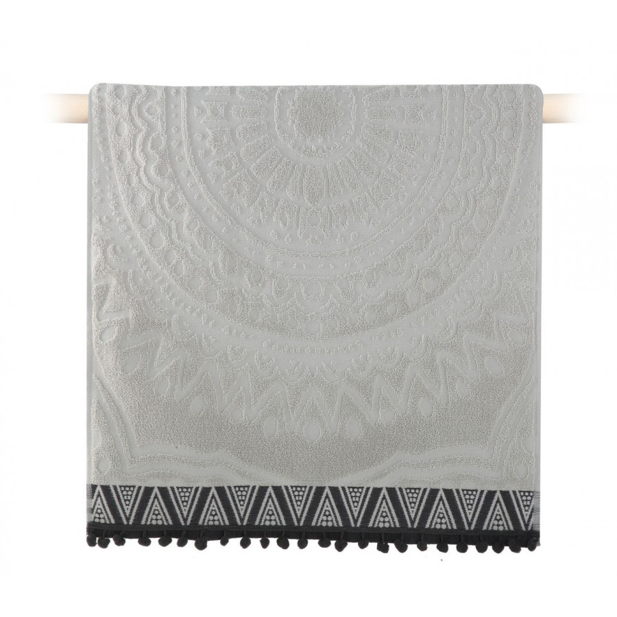 Πετσέτα Προσώπου Diego Grey 50x90