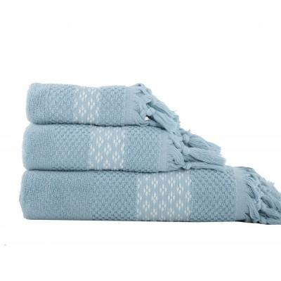 Πετσέτα Προσώπου Elvia Blue 50x90