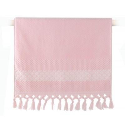 Πετσέτα Προσώπου Elvia Pink 50x90