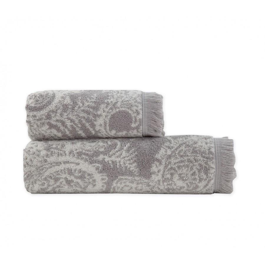 Πετσέτα Προσώπου Ledicia Grey Nef-Nef  50X90